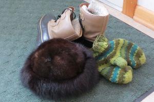 Big Fur Hat