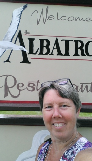 Laura at the Albatross